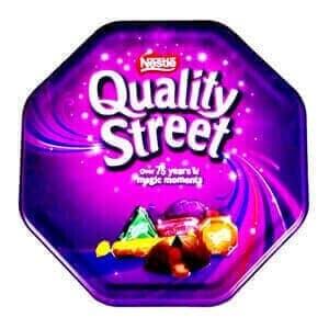 Quality Street Chocolate Box