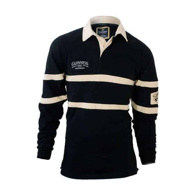 Guinness-Rugby-Shirt-Black-and-Tan-front