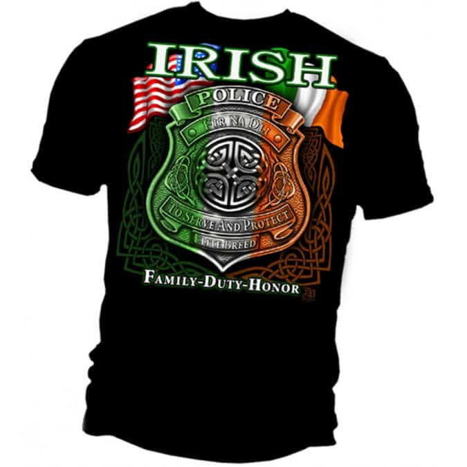 Irish-American-Police-Shirt-back