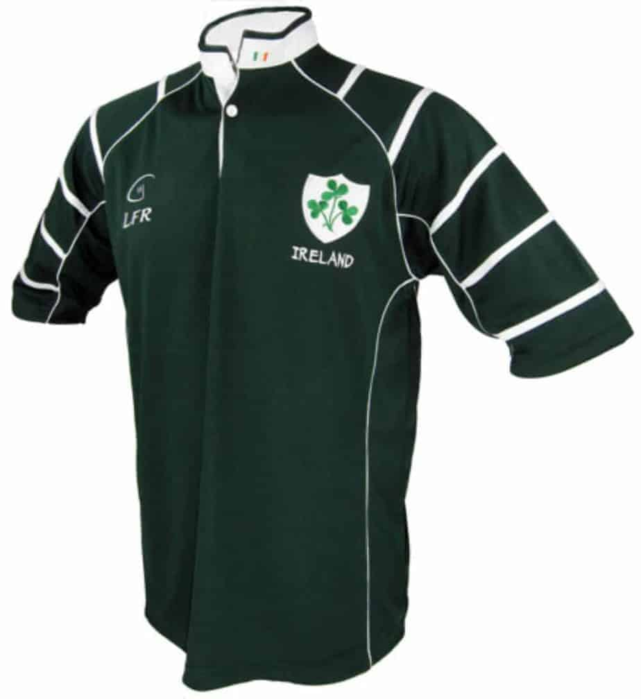 Rugby Jersey Dark Green Irish