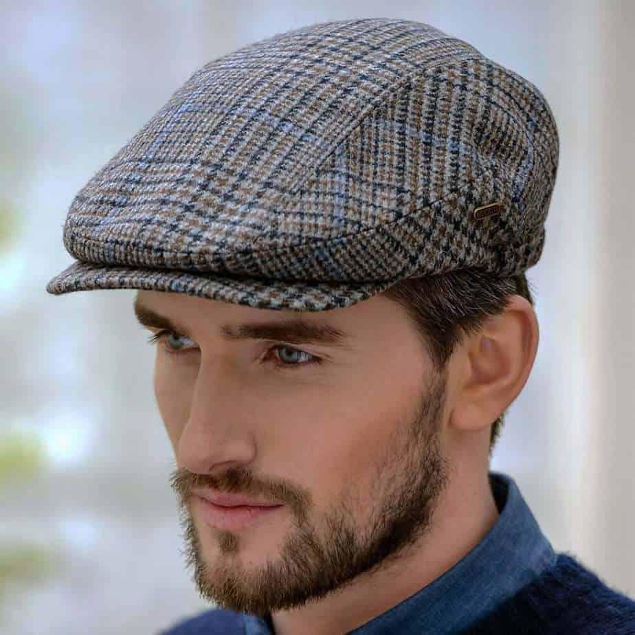Traditional Irish Flat Cap. Boardwalk Empire Style.