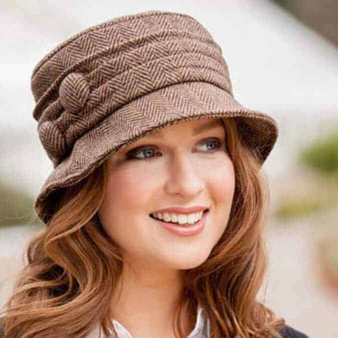 Ladies-Irish-Hat-Brown