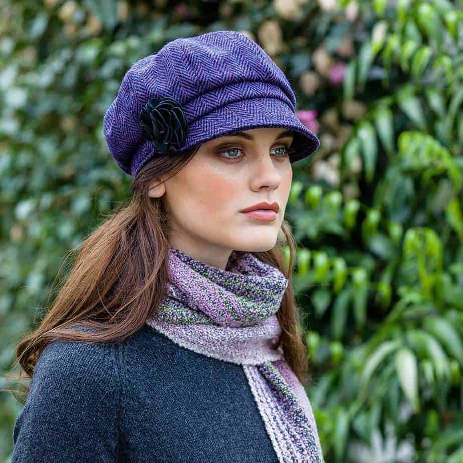 945714838 Ladies Irish Hat Purple
