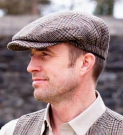 Irish Golf Hat. Made in Ireland. 100% Irish Wool