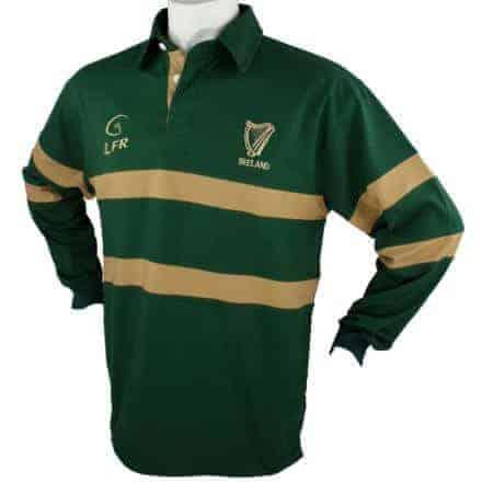 Irish Rugby Shirt - Harp Logo
