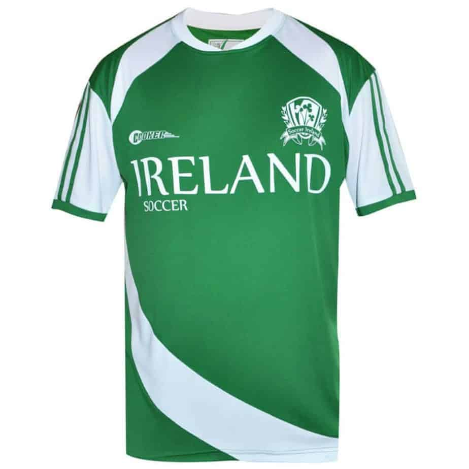 Green Irish Soccer Jersey