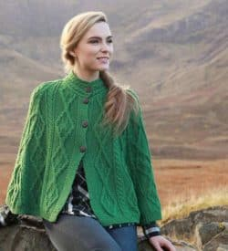 Traditional Irish Wool Cape