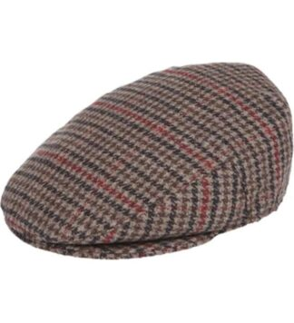 Brown-HoundsTooth-Flat-Cap-IV1933-1001