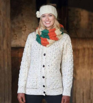 Women's Wool Aran Sweater