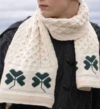 Shamrock Wool Scarf