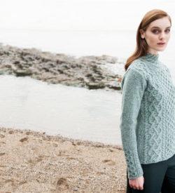 Ladies Claddagh Wool Sweater
