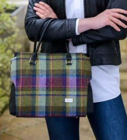 Ladies Plaid Handbag