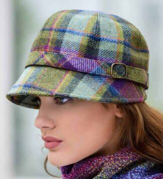 Ladies Tweed Flapper Hat from Ireland