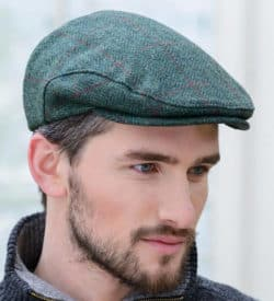 Irish Flat Cap - Tweed Hat
