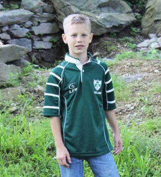 Kids Irish Rugby Shirt