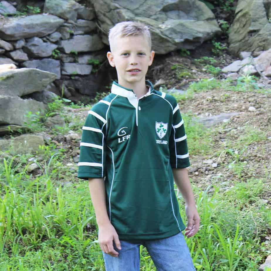 Kids Irish Rugby Shirt