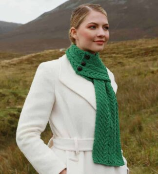 Womens Merino Wool Scarf