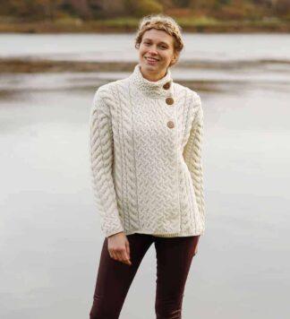 Womens Aran Sweater from Ireland