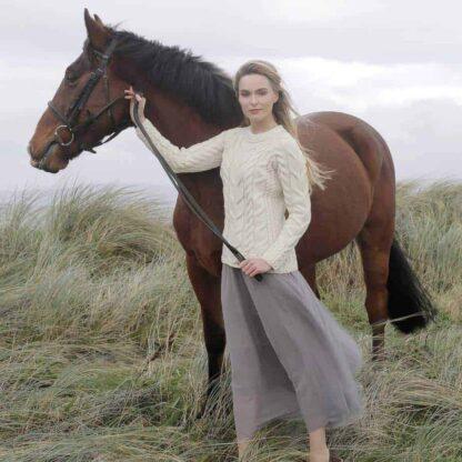 Raglan Wool Sweater