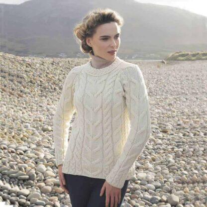Irish Wool Raglan Sweater