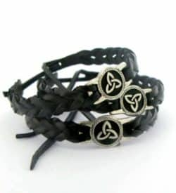 Black-Leather-Celtic-Wristband_1001