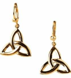Gold Celtic Knot Earrings