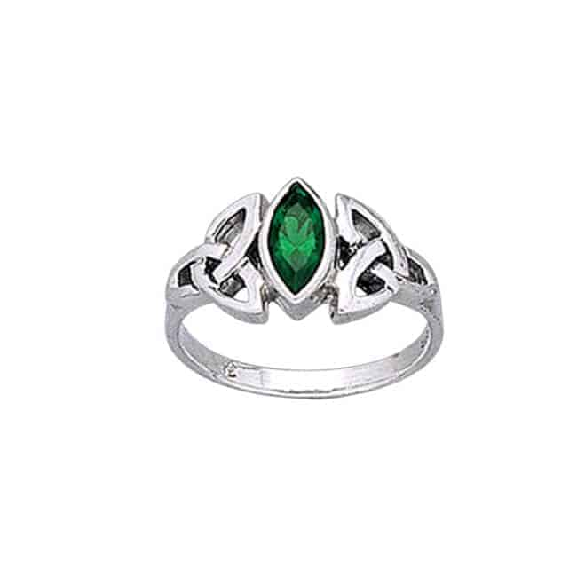 Celtic Ring for Ladies - Silver