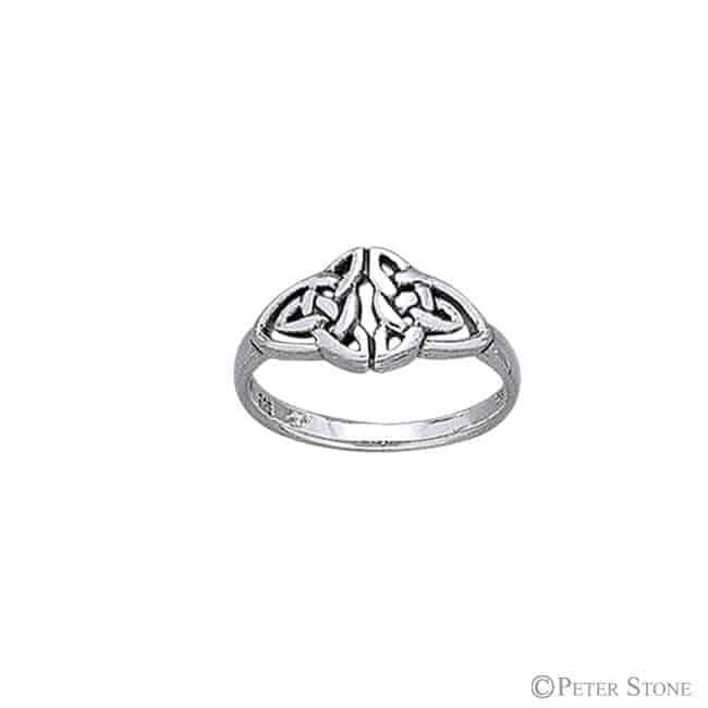Celtic Artwork Silver Ring