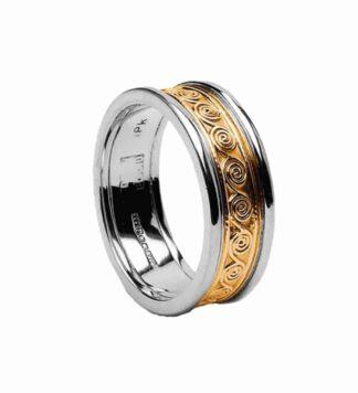 Gold Celtic Wedding Ring